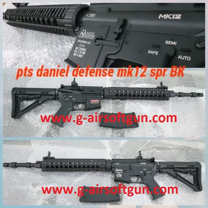 e&c pts daniel defense mk12 spr BK-01